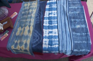 Jenne Rayburn Hand Dyed Silk Scarves, SoWa Boston