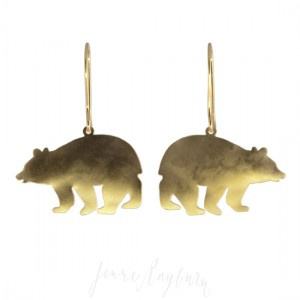 Unique artisan handcrafted Bear jewelry | Jenne Rayburn