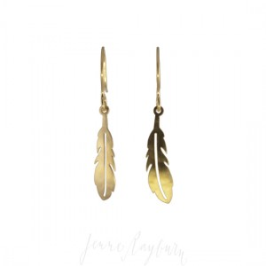 Unique artesan handcrafted Feather jewelry | Jenne Rayburn