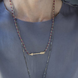 Jenne Rayburn | Golden Arrow Necklace