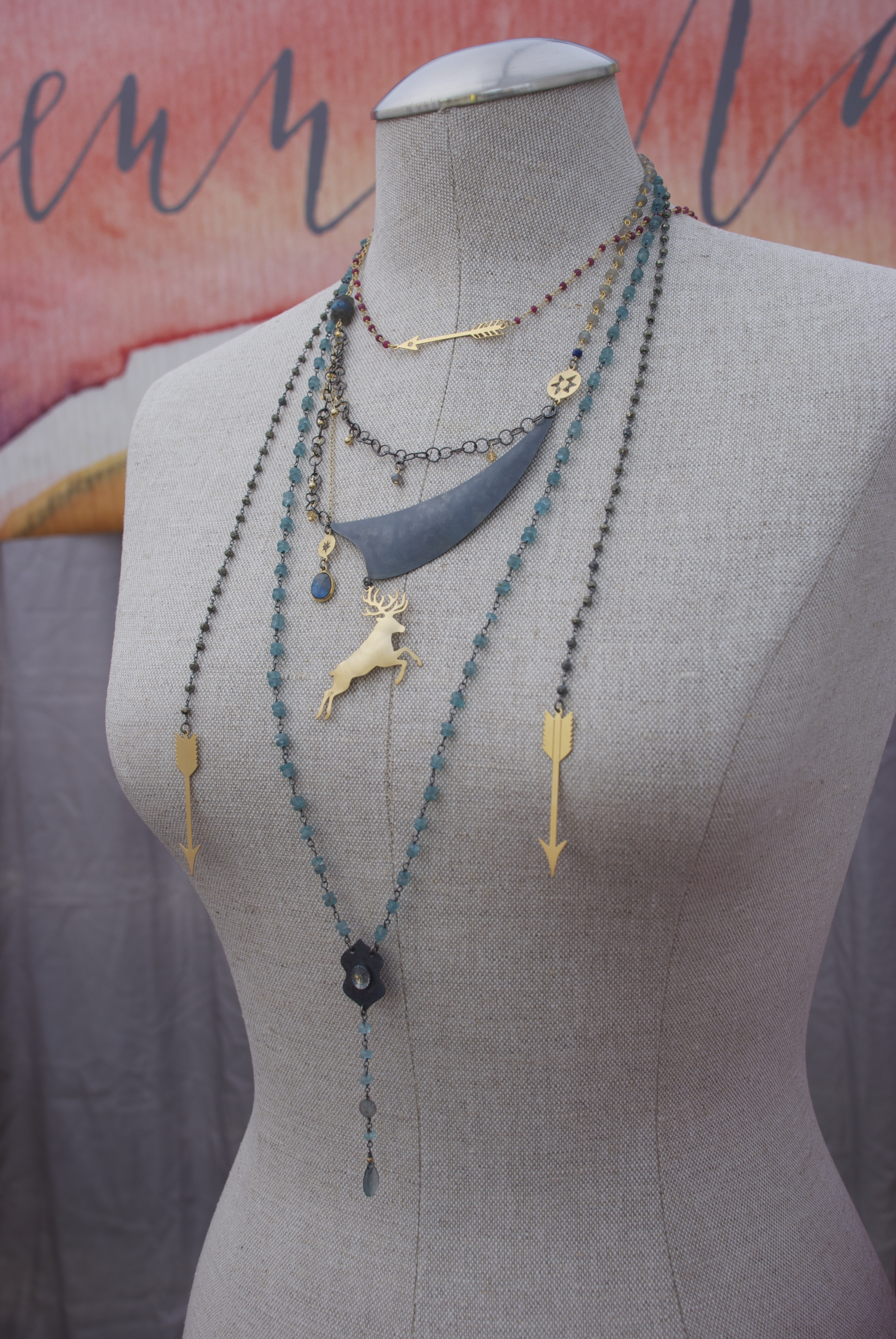 Handcrafted Necklaces by Jenne Rayburn