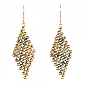 Jenne Rayburn | Faceted Diamond Dangle Earrings