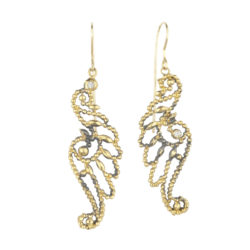Jenne Rayburn | Diamond Faceted Wings Earrings