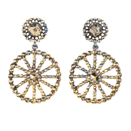Jenne Rayburn | Diamond Cut Spoke Earrings