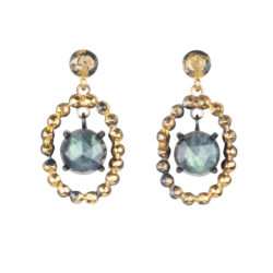 Jenne Rayburn | Rose Cut Labradorite Earrings