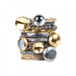gold-silver-gemstone-stacking-ring-jenne rayburn