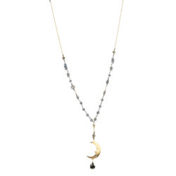 Jenne Rayburn | Golden Moon Necklace
