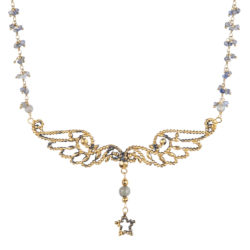 Jenne Rayburn | Diamond Cut Wings Necklace