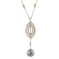 Jenne Rayburn | Faceted Shield Pendant Necklace