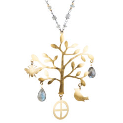 Jenne Rayburn | Golden Tree of Life Necklace