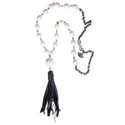pearl-leather-tassel-chain-necklace-jenne rayburn