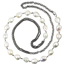 pearls-modern-necklace-chain-silver-jenne rayburn