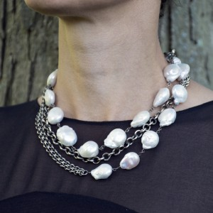 pearls-necklace-contemporary-chain-jenne rayburn