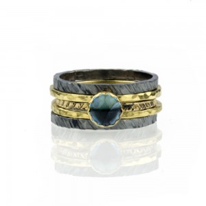 Gemstone Solitaire Ring