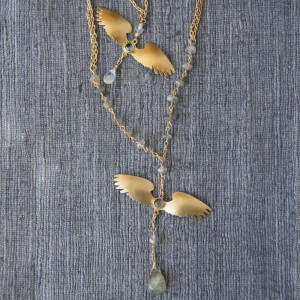 wing-necklace-gold-silver-handcrafted-jewelry-JenneRayburn