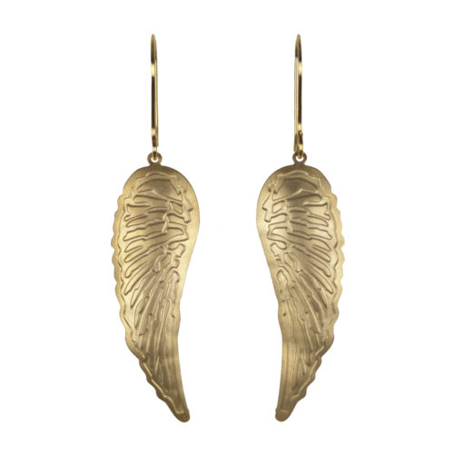 Jenne Rayburn | Golden Wing Earrings